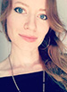 Black and white photograph of of Caitlin Hathaway