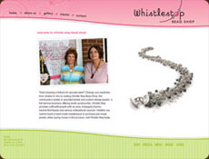 Whistlestop Bead Shop Website